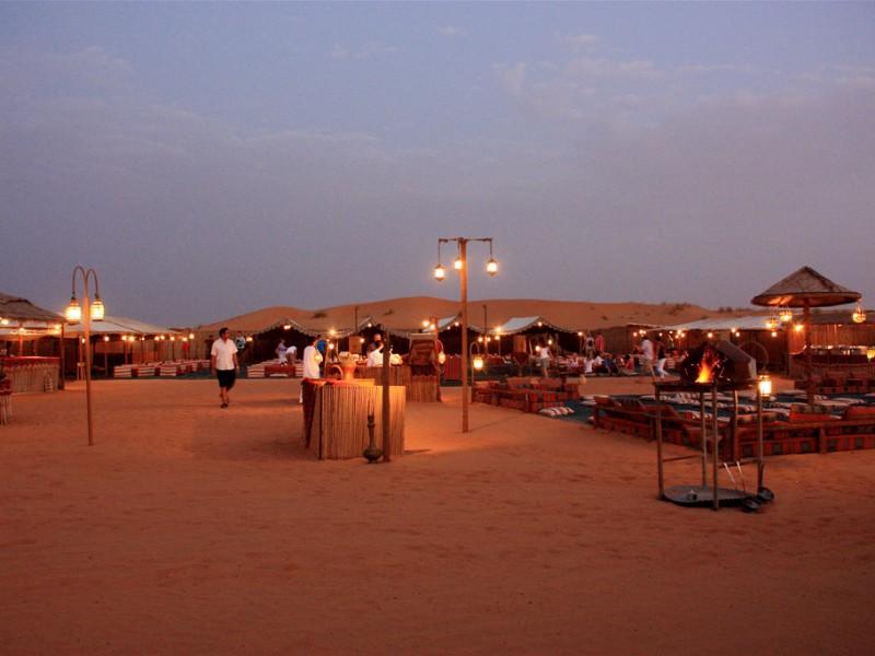 Over Night Desert Safari Luxury Tours Dubai